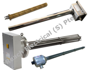 Flanged & Screw-In Immersion Heater