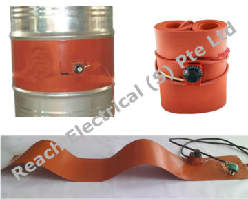 Silicon Rubber Drum Heater