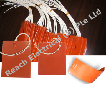 Silicone Rubber Flexible Heater