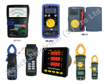 Measuring Instruments or Indicators