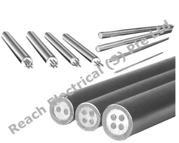 Mineral Insulated (MI) Thermocouple & RTD Cables