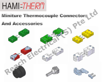 HAMITHERM Miniature Thermocouple Connectors & Accessories