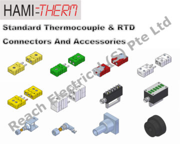 HAMITHERM Standard Thermocouple Connectors & Accessories