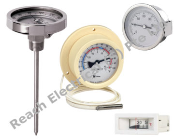 Capillary or Bimetal Thermometers