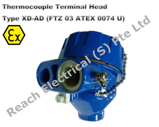 ATEX Terminal Head XD-AD (Flameproof) – Reach Electrical