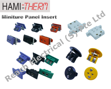 HAMITHERM Miniature Panel Inserts