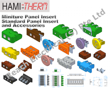 HAMITHERM Miniature and Standard Panel Inserts & Accessories