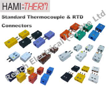 HAMITHERM Standard Thermocouple Connectors